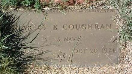 COUGHRAN, CHARLES E. - Yavapai County, Arizona   CHARLES E. COUGHRAN - Arizona Gravestone Photos