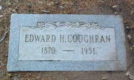 COUGHRAN, EDWARD HENRY - Yavapai County, Arizona | EDWARD HENRY COUGHRAN - Arizona Gravestone Photos
