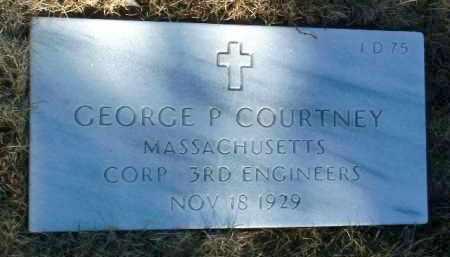 COURTNEY, GEORGE PATRICK - Yavapai County, Arizona | GEORGE PATRICK COURTNEY - Arizona Gravestone Photos
