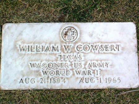 COWSERT, WILLIAM - Yavapai County, Arizona | WILLIAM COWSERT - Arizona Gravestone Photos