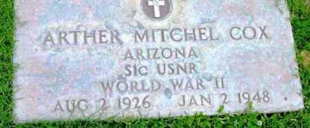 COX, ARTHER MITCHELL - Yavapai County, Arizona | ARTHER MITCHELL COX - Arizona Gravestone Photos