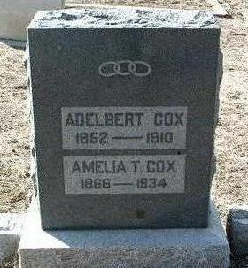 COX, ALDELBERT - Yavapai County, Arizona   ALDELBERT COX - Arizona Gravestone Photos