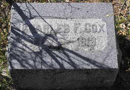COX, CHARLES FRANKLIN - Yavapai County, Arizona   CHARLES FRANKLIN COX - Arizona Gravestone Photos