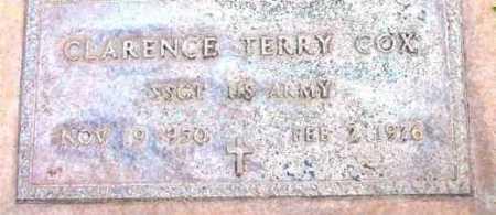 COX, CLARENCE TERRY - Yavapai County, Arizona   CLARENCE TERRY COX - Arizona Gravestone Photos