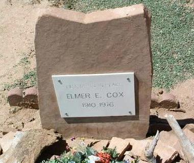 COX, ELMER EUGENE - Yavapai County, Arizona | ELMER EUGENE COX - Arizona Gravestone Photos