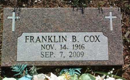 COX, FRANKLIN BYRON - Yavapai County, Arizona | FRANKLIN BYRON COX - Arizona Gravestone Photos