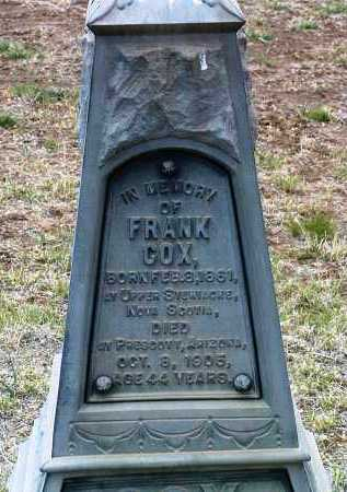 COX, FRANK - Yavapai County, Arizona | FRANK COX - Arizona Gravestone Photos