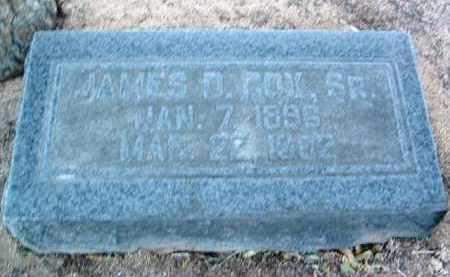 COX, JAMES D. - Yavapai County, Arizona   JAMES D. COX - Arizona Gravestone Photos