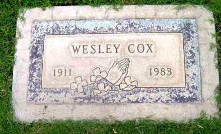COX, OTIS WESLEY - Yavapai County, Arizona   OTIS WESLEY COX - Arizona Gravestone Photos