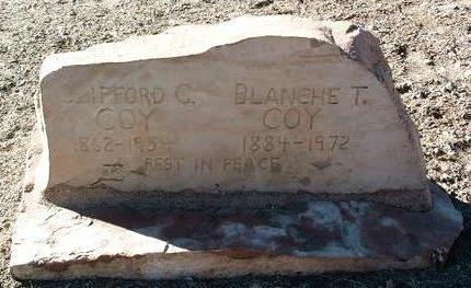 COY, CLIFFORD G. - Yavapai County, Arizona | CLIFFORD G. COY - Arizona Gravestone Photos