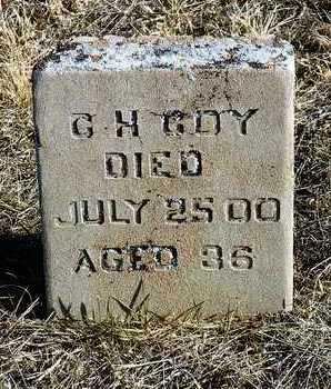 COY, CHARLES HERBERT - Yavapai County, Arizona | CHARLES HERBERT COY - Arizona Gravestone Photos