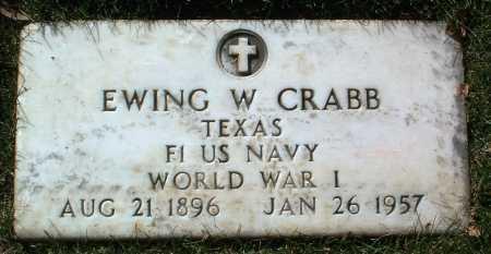 CRABB, EWING W. - Yavapai County, Arizona | EWING W. CRABB - Arizona Gravestone Photos