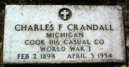 CRANDALL, CHARLES F. - Yavapai County, Arizona | CHARLES F. CRANDALL - Arizona Gravestone Photos