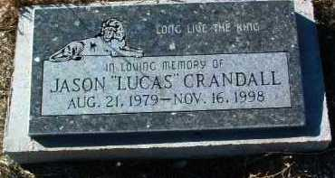 CRANDALL, JASON  (LUCUS) - Yavapai County, Arizona | JASON  (LUCUS) CRANDALL - Arizona Gravestone Photos