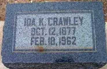CRAWLEY, IDA JANE - Yavapai County, Arizona | IDA JANE CRAWLEY - Arizona Gravestone Photos