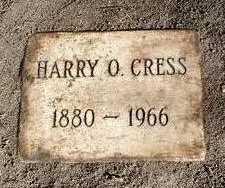 CRESS, HARRY OSCAR - Yavapai County, Arizona   HARRY OSCAR CRESS - Arizona Gravestone Photos
