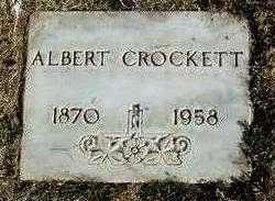 CROCKETT, ALBERT - Yavapai County, Arizona | ALBERT CROCKETT - Arizona Gravestone Photos