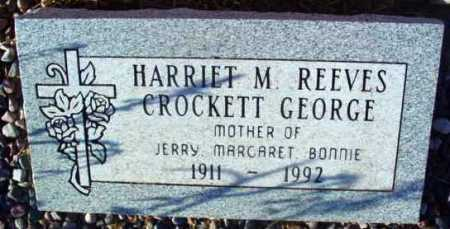 CROCKETT, HARRIET M. - Yavapai County, Arizona | HARRIET M. CROCKETT - Arizona Gravestone Photos