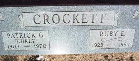 CROCKETT, RUBY ELLEN - Yavapai County, Arizona | RUBY ELLEN CROCKETT - Arizona Gravestone Photos