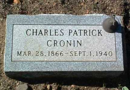 CRONIN, CHARLES PATRICK - Yavapai County, Arizona   CHARLES PATRICK CRONIN - Arizona Gravestone Photos