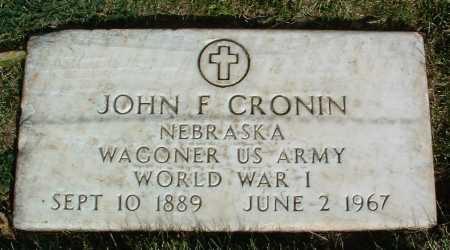 CRONIN, JOHN F. - Yavapai County, Arizona | JOHN F. CRONIN - Arizona Gravestone Photos