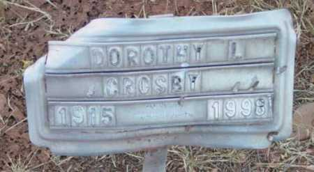 BOWEN, DOROTHY L. - Yavapai County, Arizona | DOROTHY L. BOWEN - Arizona Gravestone Photos