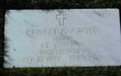 CROSS, ERNEST GLEN - Yavapai County, Arizona | ERNEST GLEN CROSS - Arizona Gravestone Photos