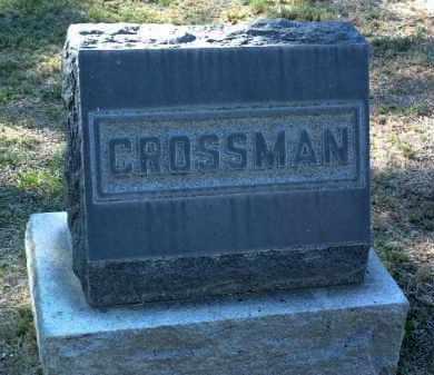 CROSSMAN, FAMILY STONE - Yavapai County, Arizona   FAMILY STONE CROSSMAN - Arizona Gravestone Photos
