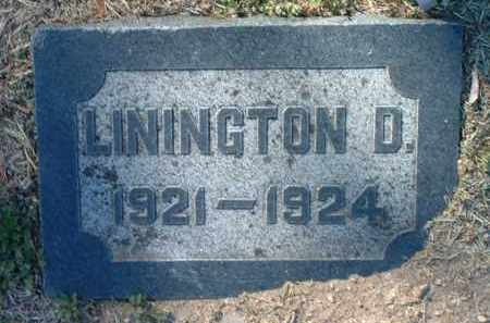 CROSSMAN, LININGTON DURYEA - Yavapai County, Arizona | LININGTON DURYEA CROSSMAN - Arizona Gravestone Photos