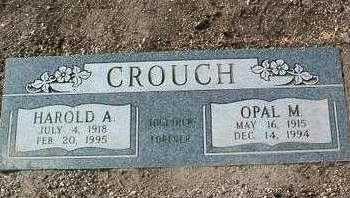HADLOCK CROUCH, OPAL - Yavapai County, Arizona | OPAL HADLOCK CROUCH - Arizona Gravestone Photos
