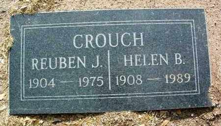 CROUCH, REUBEN J. - Yavapai County, Arizona | REUBEN J. CROUCH - Arizona Gravestone Photos