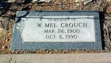 CROUCH, W. MEL - Yavapai County, Arizona | W. MEL CROUCH - Arizona Gravestone Photos