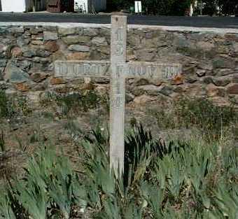CRUZ, D. JESUS - Yavapai County, Arizona | D. JESUS CRUZ - Arizona Gravestone Photos