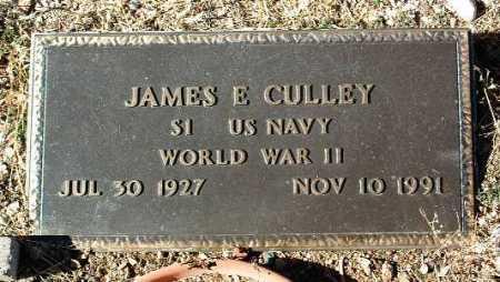 CULLEY, JAMES E. - Yavapai County, Arizona | JAMES E. CULLEY - Arizona Gravestone Photos