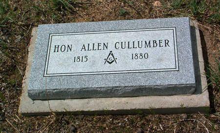CULLUMBER, ALLEN - Yavapai County, Arizona | ALLEN CULLUMBER - Arizona Gravestone Photos