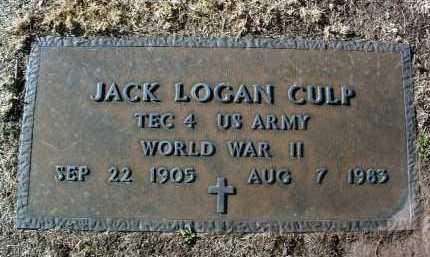 CULP, JACK LOGAN - Yavapai County, Arizona | JACK LOGAN CULP - Arizona Gravestone Photos
