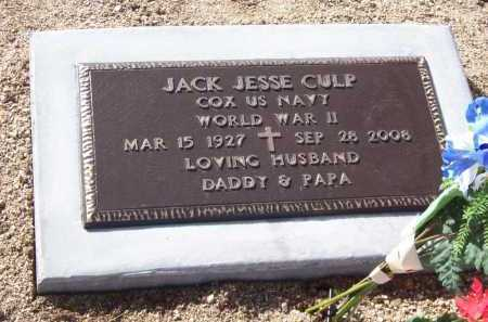 CULP, JACK JESSE - Yavapai County, Arizona | JACK JESSE CULP - Arizona Gravestone Photos