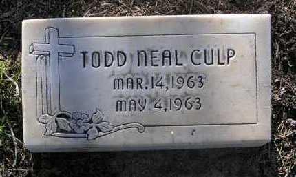 CULP, TODD NEAL - Yavapai County, Arizona | TODD NEAL CULP - Arizona Gravestone Photos