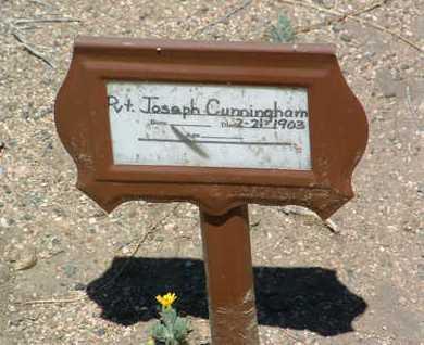 CUNNINGHAM, THOMAS J. - Yavapai County, Arizona   THOMAS J. CUNNINGHAM - Arizona Gravestone Photos