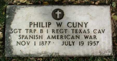 CUNY, PHILIP W. - Yavapai County, Arizona | PHILIP W. CUNY - Arizona Gravestone Photos