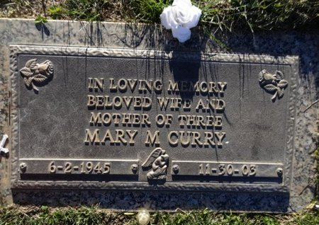 CURRY, MARY MARCELINA - Yavapai County, Arizona | MARY MARCELINA CURRY - Arizona Gravestone Photos