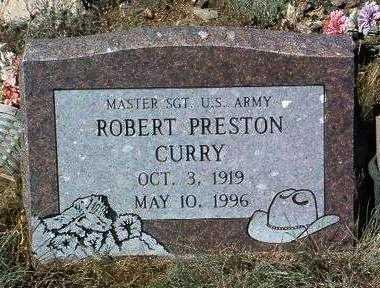CURRY, ROBERT PRESTON - Yavapai County, Arizona   ROBERT PRESTON CURRY - Arizona Gravestone Photos
