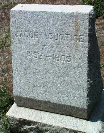 CURTICE, JACOB W. - Yavapai County, Arizona | JACOB W. CURTICE - Arizona Gravestone Photos