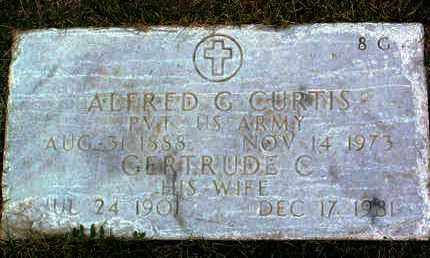 CURTIS, GERTRUDE C. - Yavapai County, Arizona | GERTRUDE C. CURTIS - Arizona Gravestone Photos