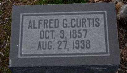 CURTIS, ALFRED GEORGE, SR. - Yavapai County, Arizona | ALFRED GEORGE, SR. CURTIS - Arizona Gravestone Photos