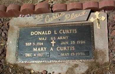 CURTIS, MARY ANN - Yavapai County, Arizona | MARY ANN CURTIS - Arizona Gravestone Photos
