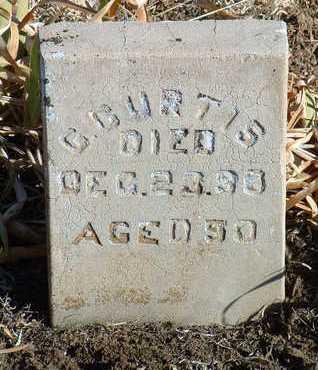 CURTIS, GEORGE W. - Yavapai County, Arizona | GEORGE W. CURTIS - Arizona Gravestone Photos