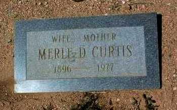 CURTIS, MERLE DORA - Yavapai County, Arizona | MERLE DORA CURTIS - Arizona Gravestone Photos