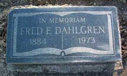 DAHLGREN, FRED F. - Yavapai County, Arizona | FRED F. DAHLGREN - Arizona Gravestone Photos