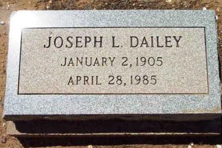 DAILEY, JOSEPH L. - Yavapai County, Arizona | JOSEPH L. DAILEY - Arizona Gravestone Photos